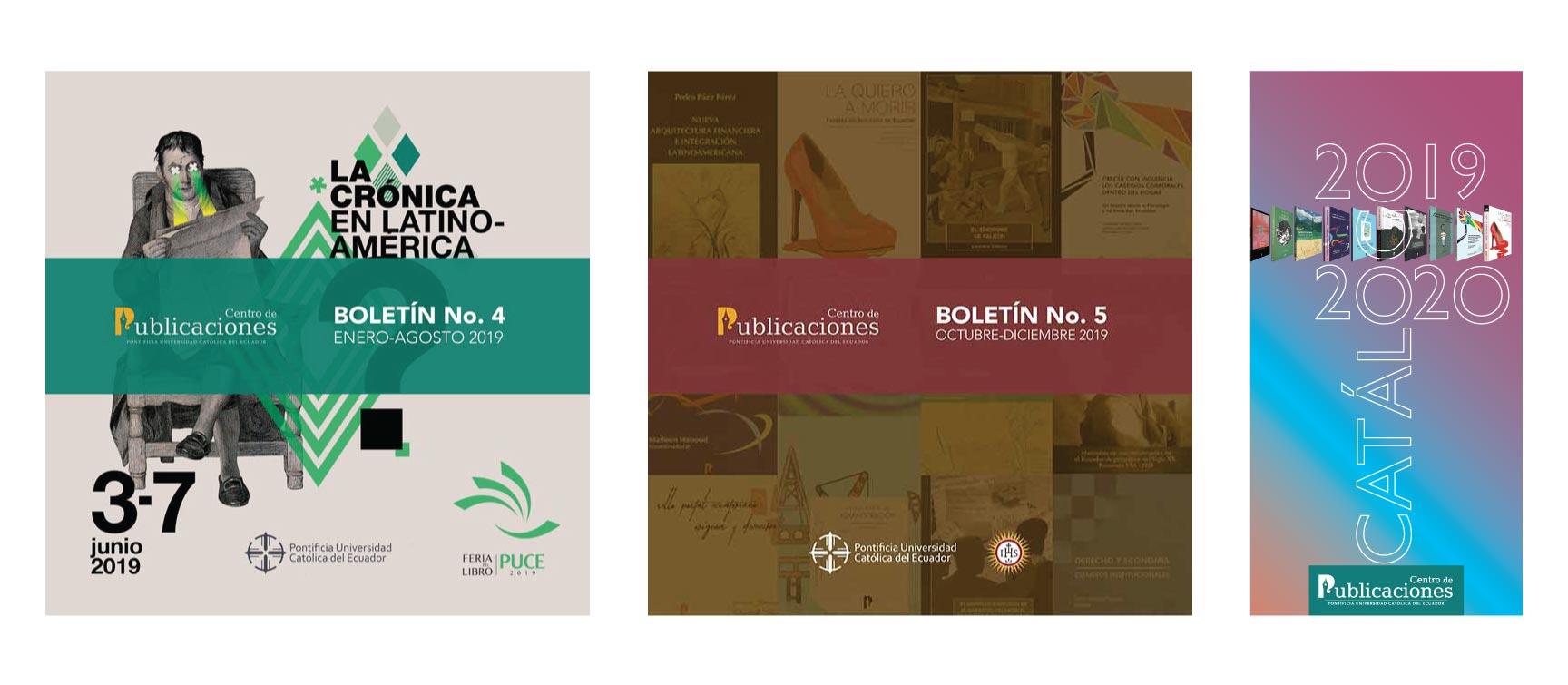 Catálogos y boletines